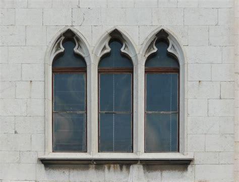 Tall Gothic Windows Texture 0300