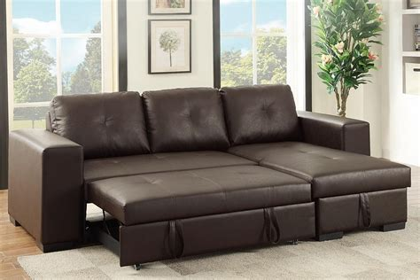 Sleeper Sofa Sectionals by Brown Leather Sectional Sleeper Sofa A Sofa
