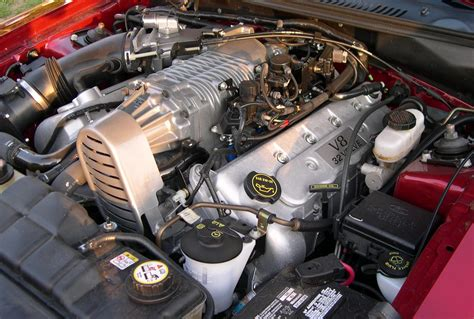 2003 Mustang Cobra Engine by File 2003 Ford Mustang Cobra 32v Supercharged Engine Jpg