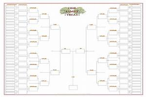 best photos of blank family tree chart template large With 11 generation family tree template