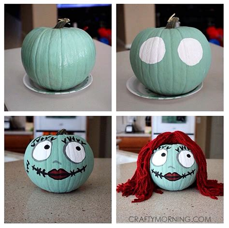 clever  carvepainted pumpkin ideas  kids crafty