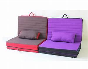 coussin lit pliant pour chambre salon moderne With tapis yoga avec canapé lit beat