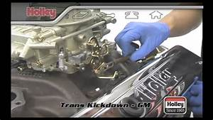 Setting The Transmission Kickdown On Th