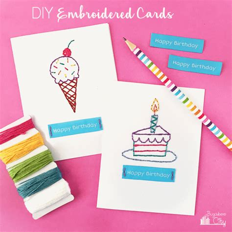 free printable photo birthday cards 13 diy birthday cards that are too cute shelterness