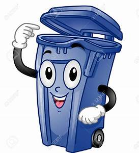 Trash clipart trash can - Pencil and in color trash ...
