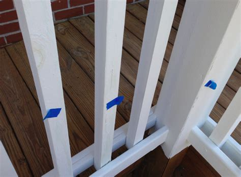 pressure treated deck painted white paint cracking