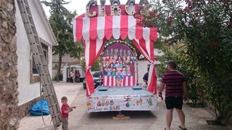 carroza circo mis cositas en  fair grounds  fiestas