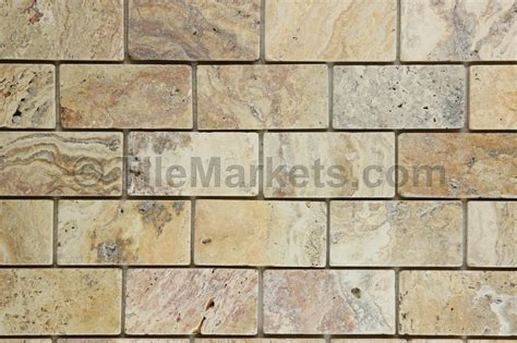 scabos travertine mosaic tile travertine scabos 2x4 tumbled tilemarkets 174