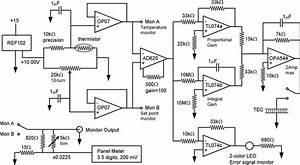 Schematic Diagram Of The Temperature Controller  A