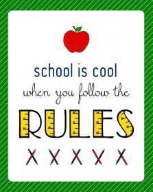 Free Printable Classroom Signs