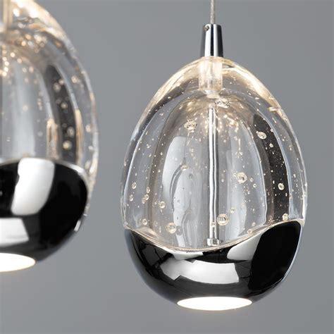 Visconte Bulla Pendant Ceiling 3 Light Led Bar Pendant