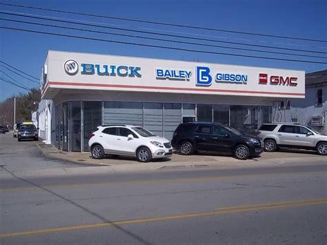 Buick Car Dealerships Near Me by Bailey Gibson Buick Pontiac Gmc Inc Car Dealers