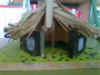 neolithic hut project work  lucia  stone age houses