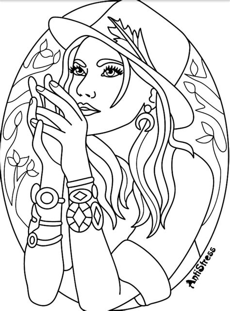 coloring page  images witch coloring pages