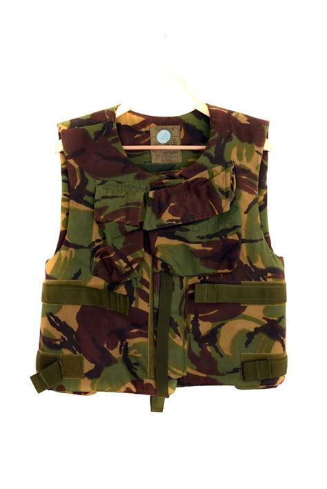 british army genuine combat body armour  filler