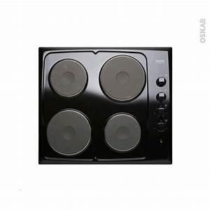 Plaque Cuisson 2 Feux : plaque de cuisson 4 feux electrique 60 cm noir frionor ~ Dailycaller-alerts.com Idées de Décoration