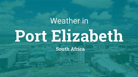 weather port elizabeth south africa