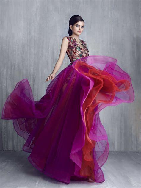evening dresses  gowns  tony chaaya  lebanon
