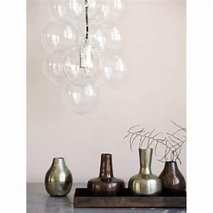 Luminaire Boule Verre : acheter une lampe diy house doctor avec 12 boules en verre pas cher ~ Teatrodelosmanantiales.com Idées de Décoration
