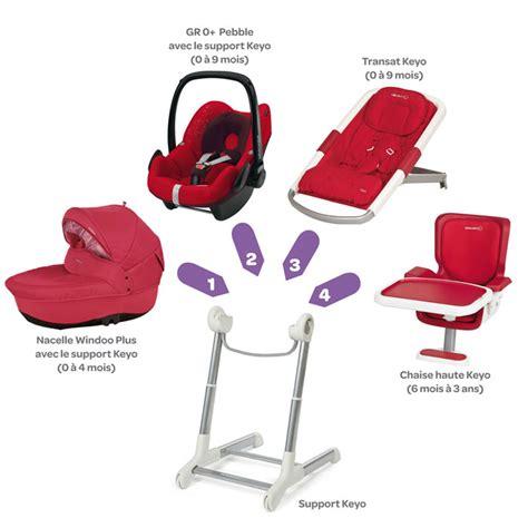 transat evolutif chaise haute keyo de bébé confort aubert
