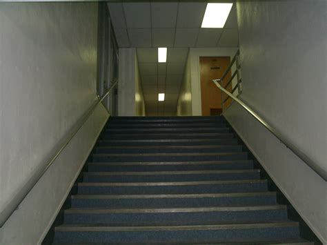 building stairs west building office midland retro electronics