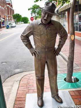 Frank Sutton: Gomer Pyle Nemesis, Clarksville, Tennessee