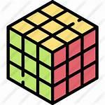 Icons Rubik Icon Premium Lineal Flaticon