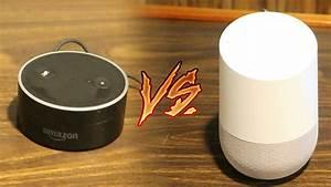 Google Home Oder Amazon Echo : google home vs amazon echo dot comparison speed test unboxing features google home ~ Frokenaadalensverden.com Haus und Dekorationen