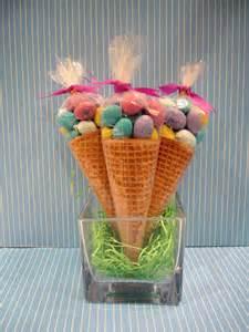 Cute Easter Idea in Sugar Cones M