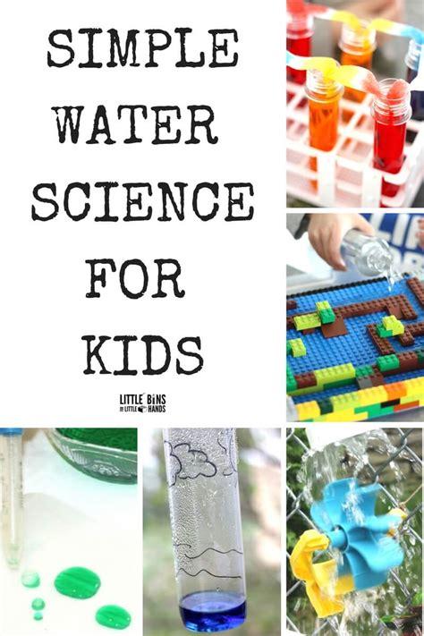 water science activities for kindergarten and 825 | Quick Water Science Activities and Experiments for Kids