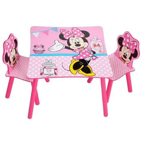 table et chaise pour bébé ensemble table et 2 chaises pour enfant motif disney