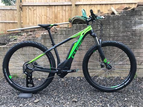 cube e mountainbike 2018 cube reaction hybrid pro 400 29 2018 electric bike iridium green