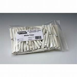 Disposable Cigarette Filters Amber White Clear Tar