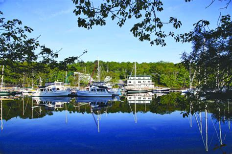 Boat Yard Dog Trials In Rockland by Great Island A Yard For All Seasons Maine Boats Homes