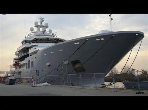 Ulysses Yacht Boat International by 107m Kleven Explorer Yacht Ulysses Completes La Rochelle