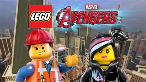 Creating Emmet And Wyldstyle Lego Marvels Avengers