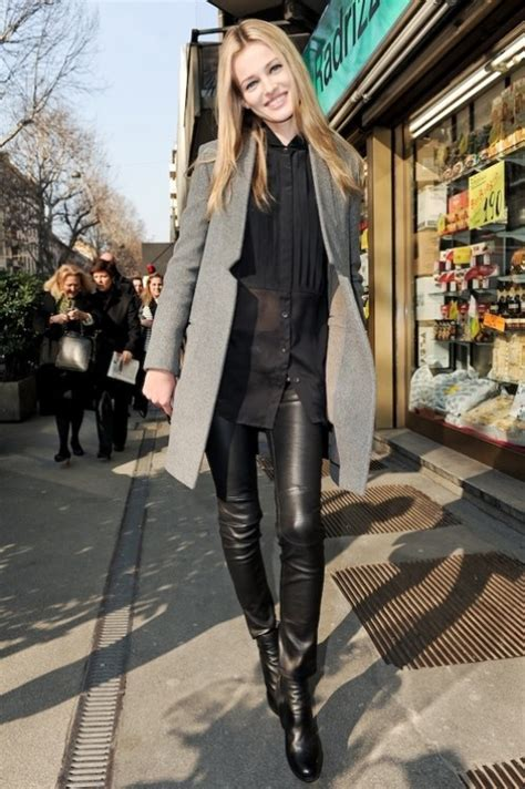 30 Best Ladies In Leather Images On Pinterest My Style