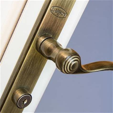 larson door handle warranty information larson doors