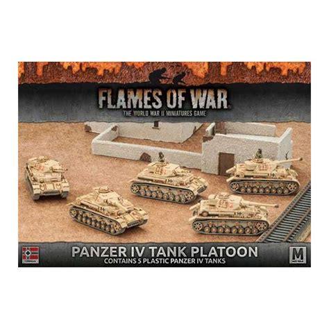 v4 card template flames of war afrika korps panzer iv tank platoon 31 50 fantasywelt