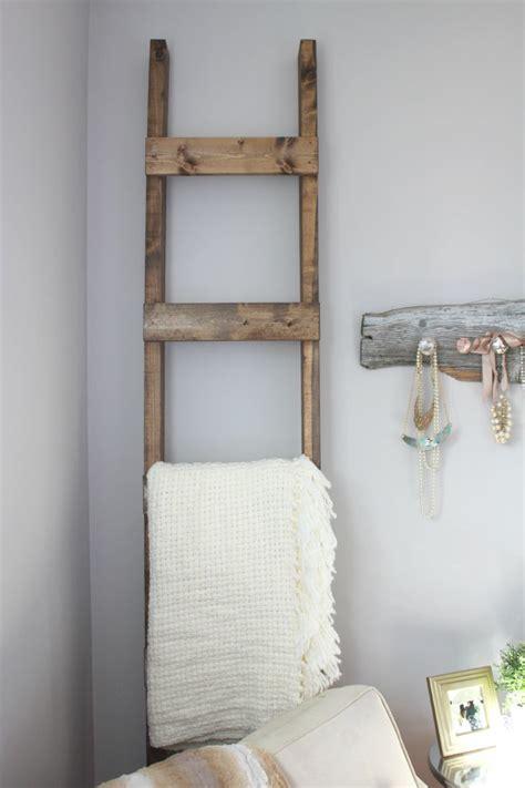 easiest  diy blanket ladder  guest post  aka