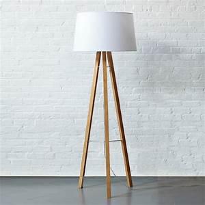 Cb2 tripod floor lamp meze blog for Cb2 lamp pool floor lamp