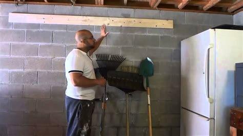 diy easy tool storage idea garage organization youtube