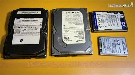 Various Types Of Hard Drives, Their Components And Working