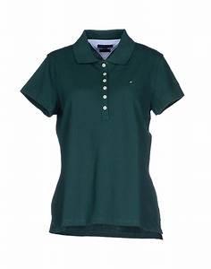 Tommy hilfiger Polo Shirt in Green (Dark green) | Lyst