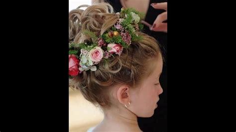 flower girl wedding hairstyles youtube