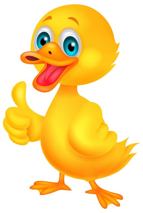 cartoon duck toy animal yellow character flat vector
