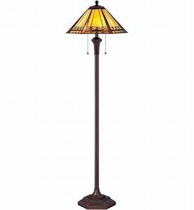 quoizel tf1135f arden tiffany floor lamp lampscom With tiffany floor lamp post
