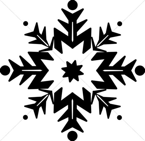 Transparent Background Snowflake Silhouette Snowflake Clip by Snowflake Clipart Black And White 6 187 Clipart Station