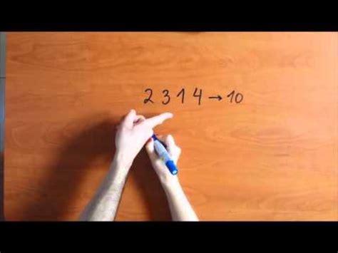 Matemágicas 2 Adivinar Qué Número Se Ha Tachado Truco