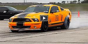Whoa!! 220.8 mph Texas Mile! Check Out The WORLD'S FASTEST Ford Mustang GT500 Super Snake By ...